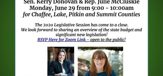 2020 Legislative Wrap-Up Virtual Coffee