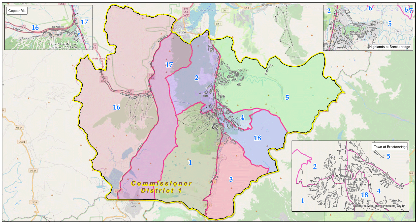 Summit County Voting Map District 1