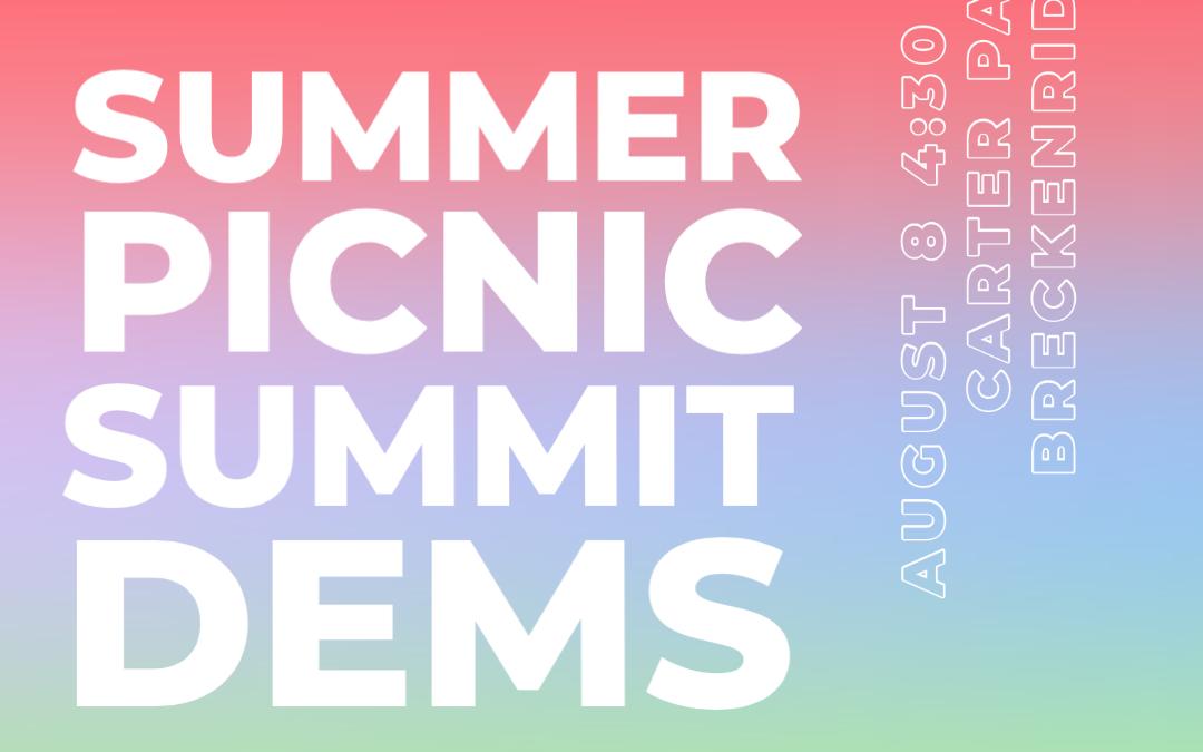 Summit Dems Annual Picnic